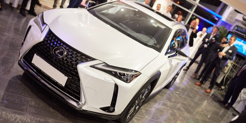Lexus UX Preview