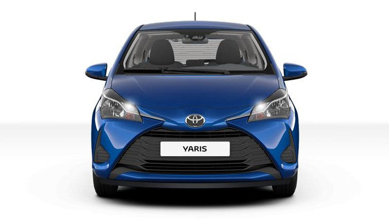 Toyota Yaris 2017 Frontansicht